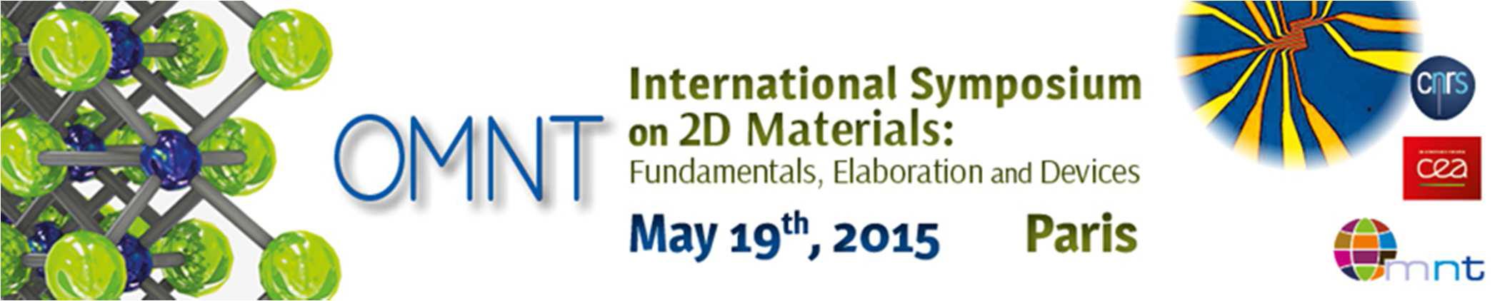 Symposium sur les matériaux 2D, 19 mai 2015, Paris