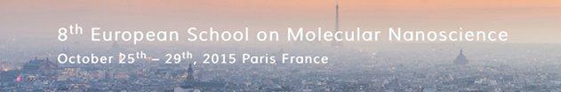 Ecole Européenne sur les nanosciences moléculaires