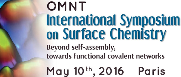 "Symposium international ""On-Surface chemistry"", 10 mai 2016"