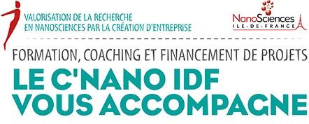 Valoriser la recherche par la création d'entreprise, C'Nano Idf, 12-17 mars 2017