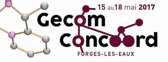 GECOM-CONCOORD, 15-18 mai 2017