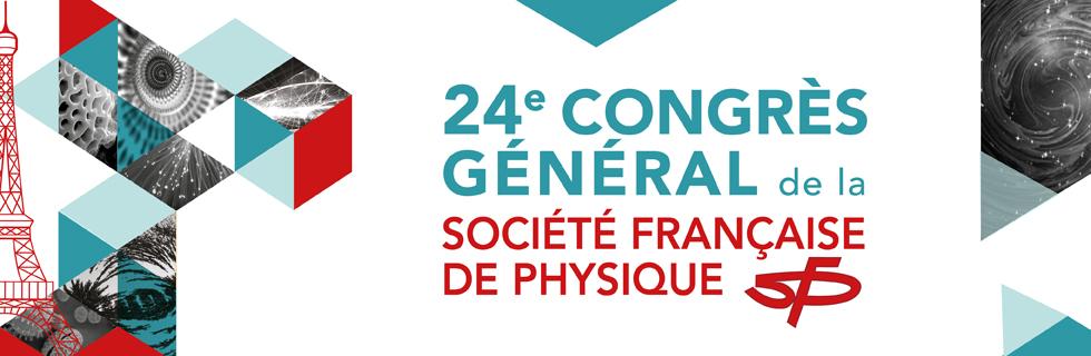 Congrès Général de la SFP, 3-7 juillet 2017