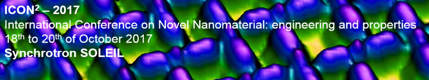 Conférence Internationale sur les Nouveaux Nanomatériaux (ICON²), 18-20 octobre 2017