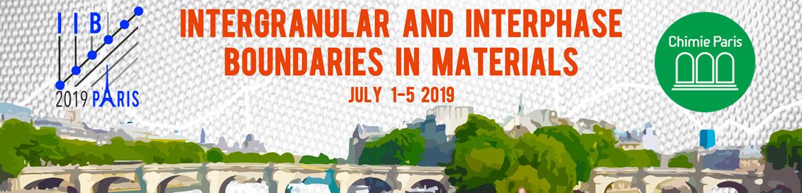 Conférence IIB 2019, 1-5 juillet, Paris