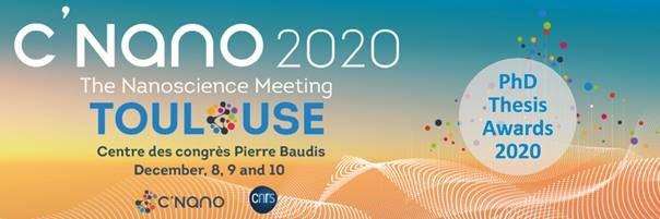 Congrès C'Nano 2020, appel à prix de thèse nationaux