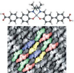Ciselage bidimensionnel de nanoarchitectures moléculaires